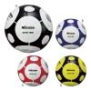 卒業記念品:ミカサ サッカーボール 検定5号球(手縫) A/ホワイト×ブラック